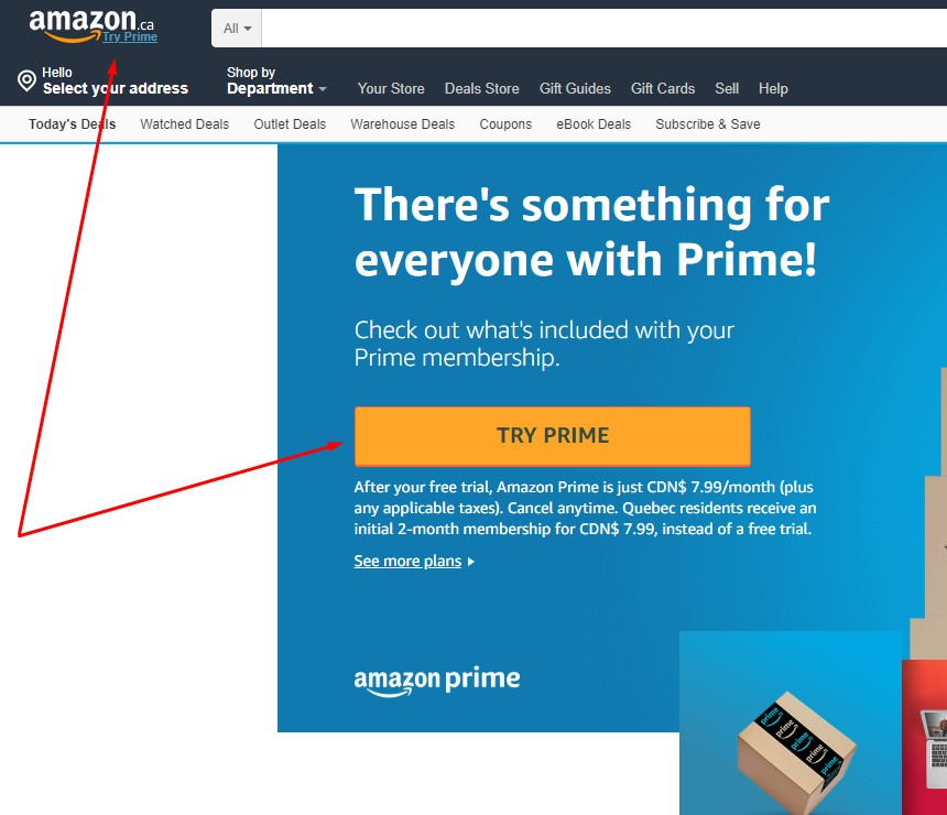 How to Get Amazon Prime Account for Free