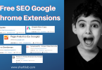 Free SEO Google Chrome Extensions