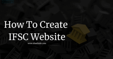 How To Create IFSC Website